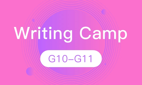 Writing Camp G10-G11